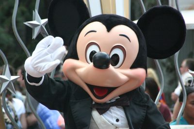 Disneyland Paris Parade Mickey