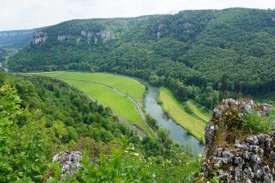 Donauradweg Donau