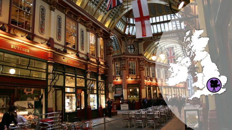 Harry Potter Travel-Guide Leadenhall Market