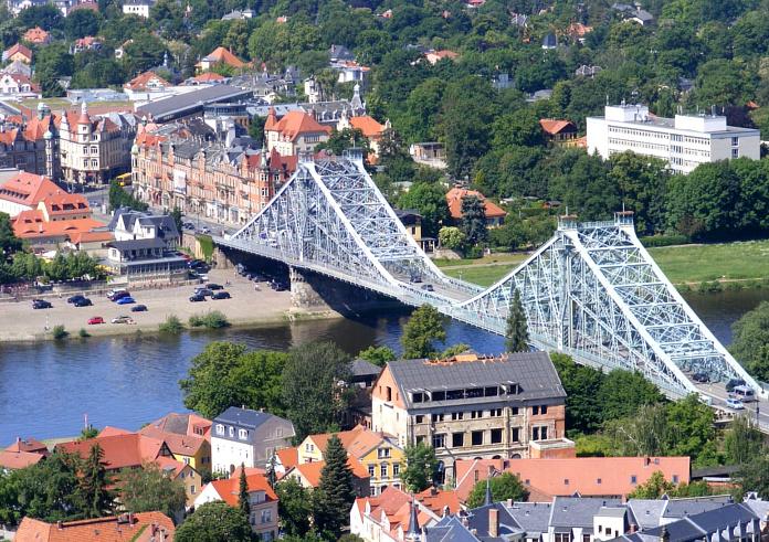 Dresden-Sehenswürdigkeiten Blaues Wunder