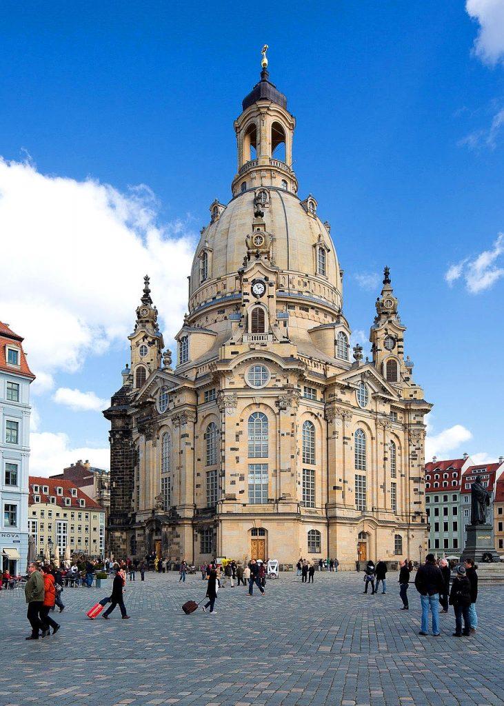 Top 10 Sehenswürdigkeiten Deutschland. Frauenkirche