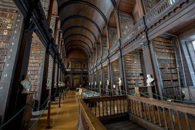 Die alte Bibliothek im Trinity College