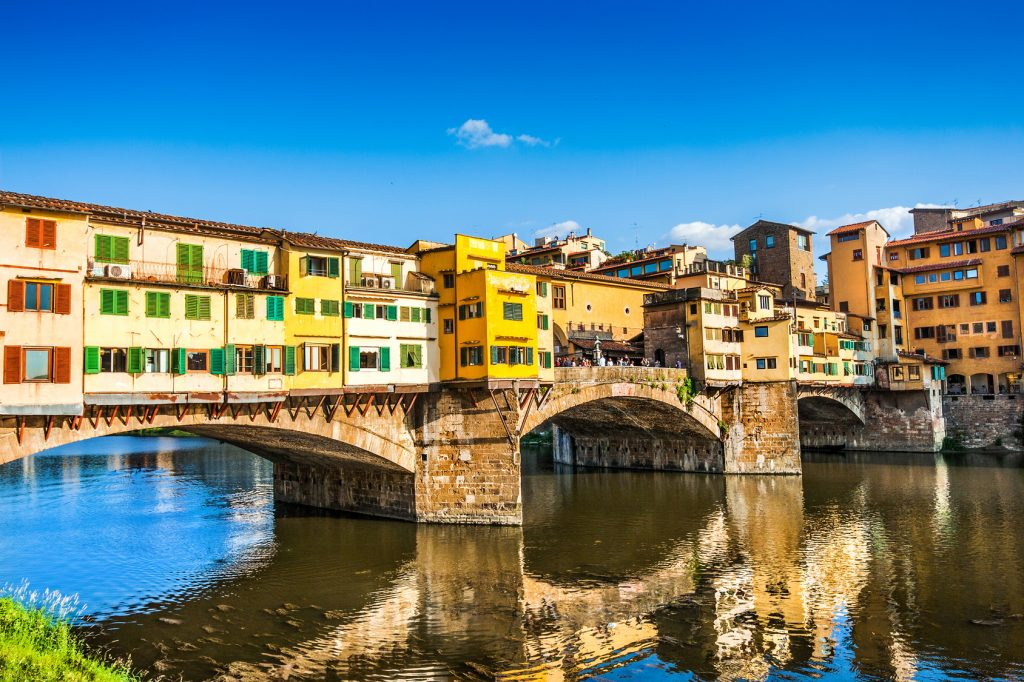 Top 10 Sehenswürdigkeiten Florenz. Ponte Vecchio.