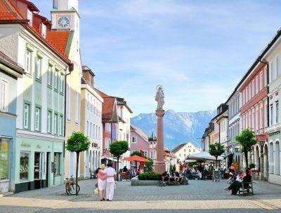 Fußgängerzone Murnau