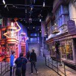 Harry Potter Gleis 9 dreiviertel