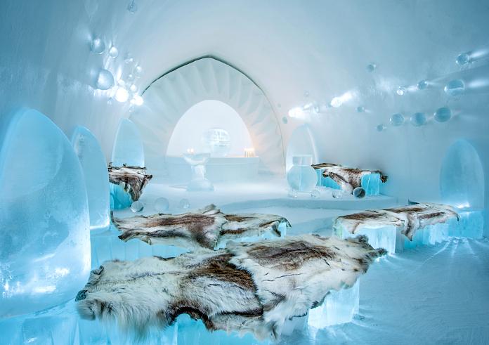 Icehotel Iglu Kirche
