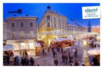 Winterbild Klagenfurt