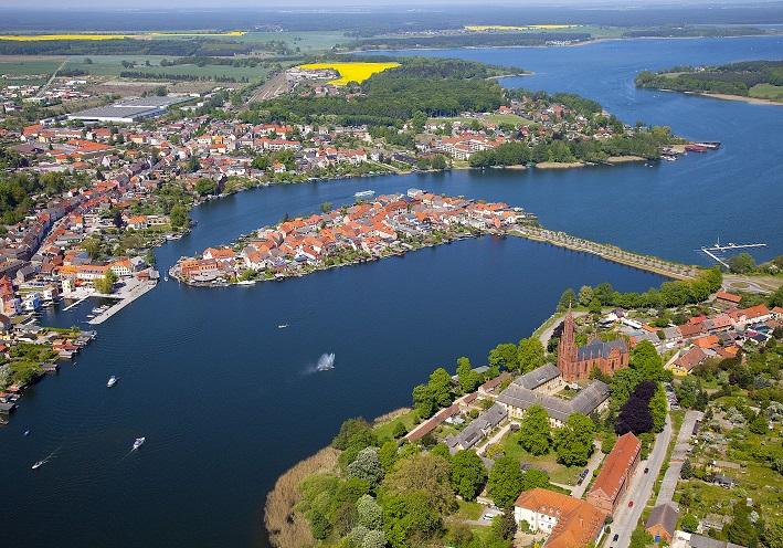 Luftbild Malchow