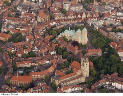 Luftbild Innenstadt Münster