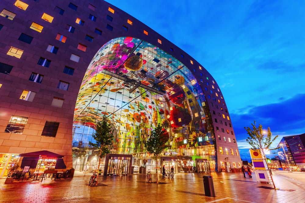Rotterdam_Sehenswuerdigkeiten-Markthal_Rotterdam