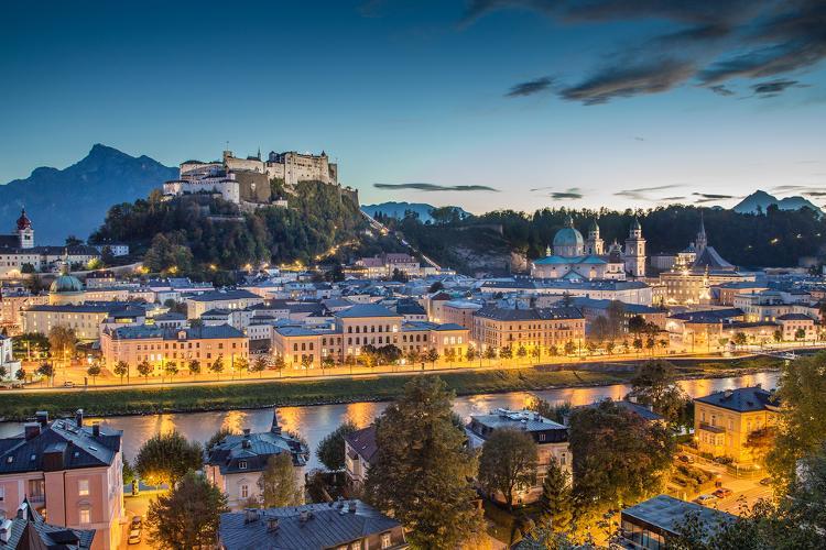 Top 5 Sehenswuerdigkeiten Salzburg. Festung Hohensalzburg.