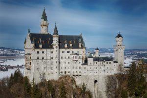 Schloss Neuschwanstein Winter Urlaub