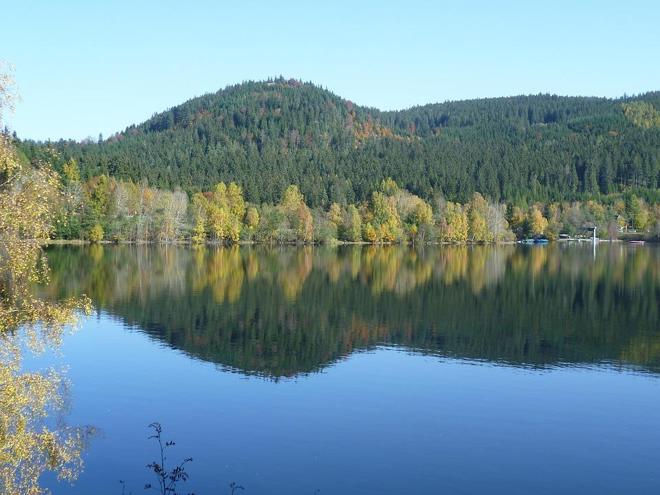 Seen in Deutschland: Schluchsee