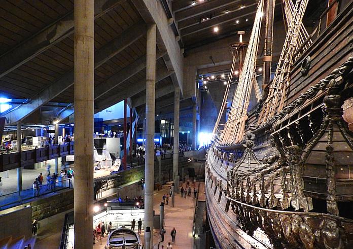 Top 10 Sehenswürdigkeiten Stockholm. Vasa Museum.