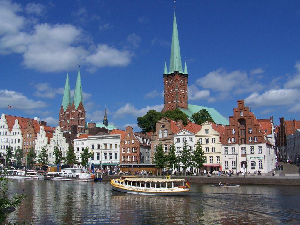 Die schönsten Städte Deutschlands. Luebeck.