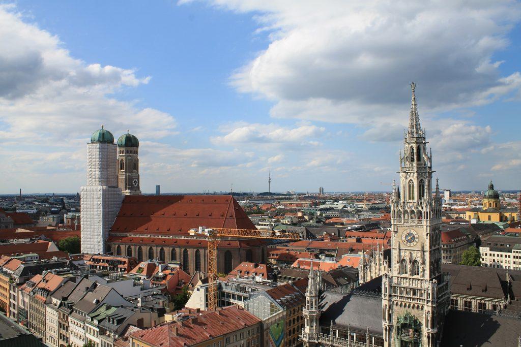 Die schönsten Städte Deutschlands. Muenchen.