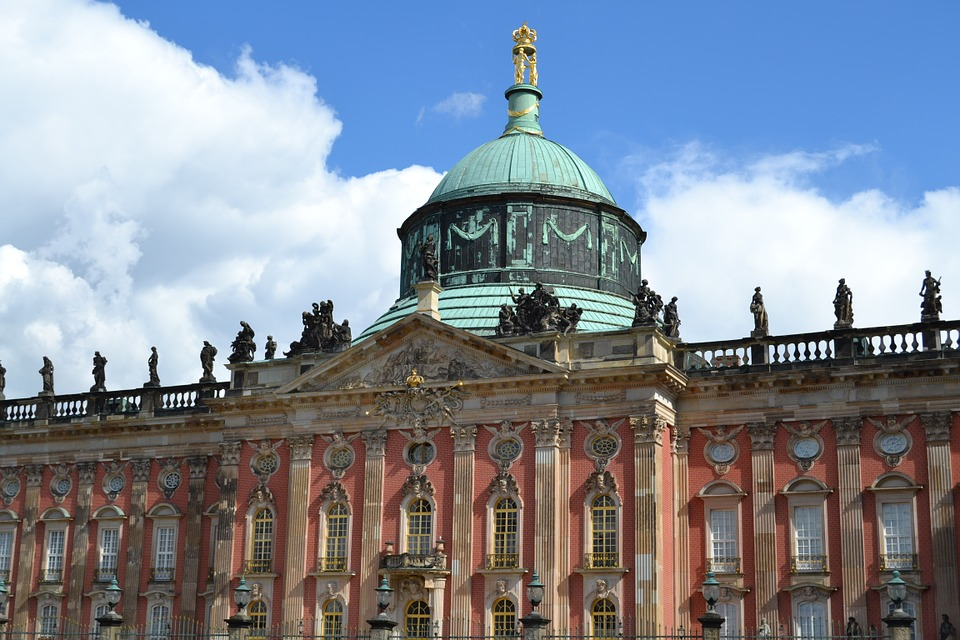 Die schönsten Städte Deutschlands.Potsdam.