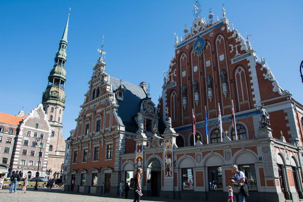 Top 10 Sehenswürdigkeiten Riga: Schwarzhäupterhaus