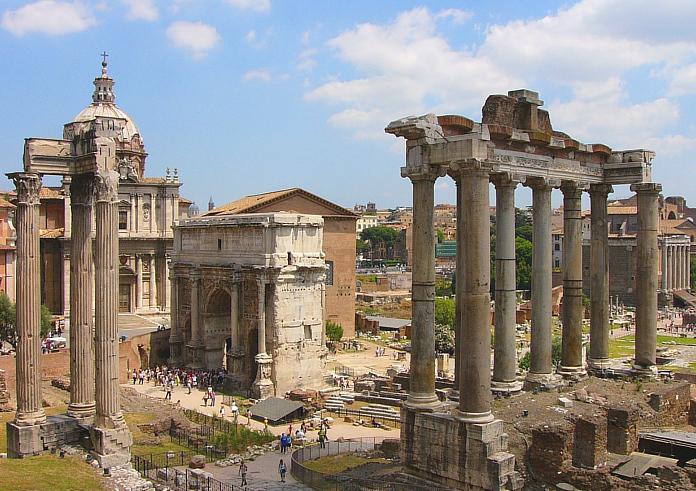 Top 10 Rom: Forum Romanum