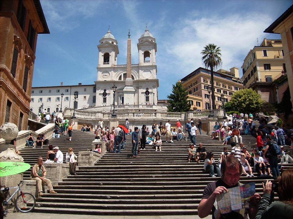 Top 10 Rom: Spanische Treppe