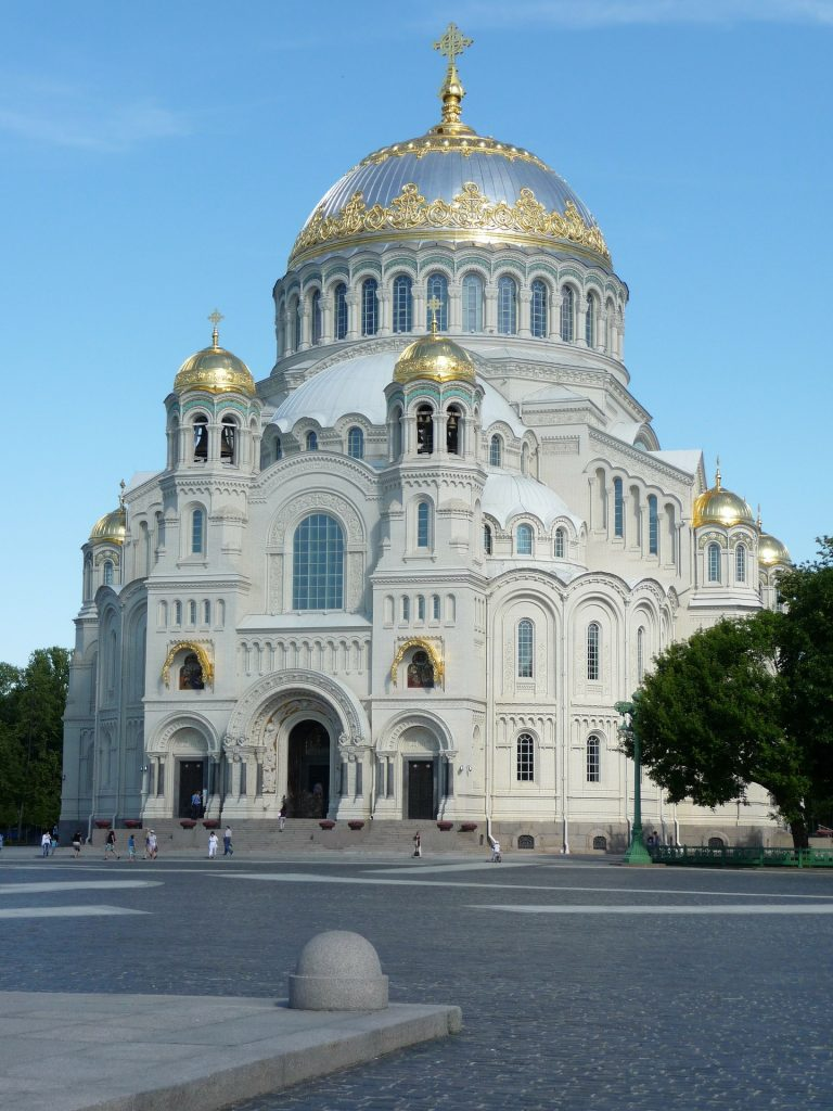 Top 10 Sehenswürdigkeiten St. Petersburg. Marine-Dom in Kronstadt