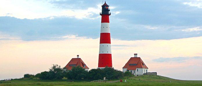 Weser Radweg Leuchtturm