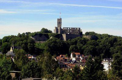 Burg Königstein und Stadt