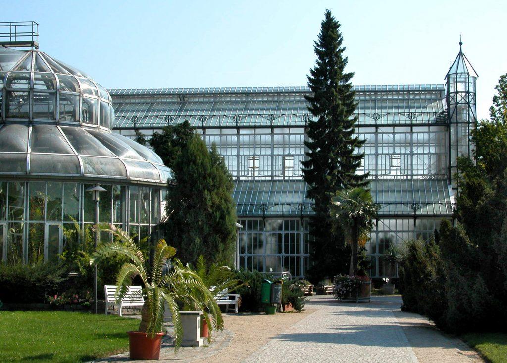 Gewächshäuser, © I. Haas, Botanischer Garten und Botanisches Museum Berlin-Dahlem