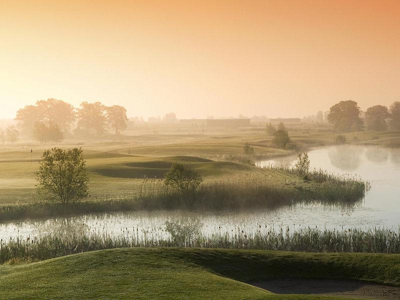 Golfspielen am Fleesensee