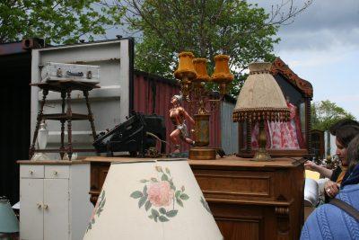Publikumsmagnet Mauerpark-Flohmarkt