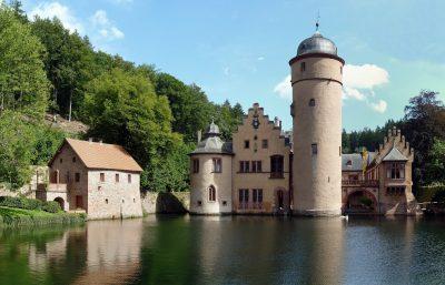 Burg im Rheintal