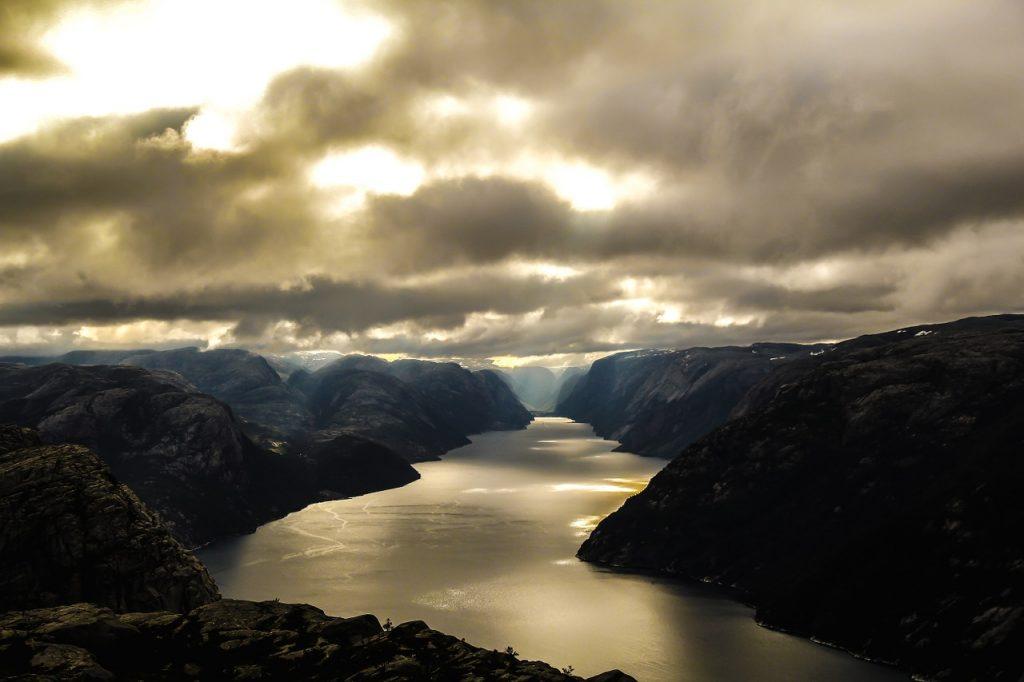 Urlaub an den norwegischen Fjorden
