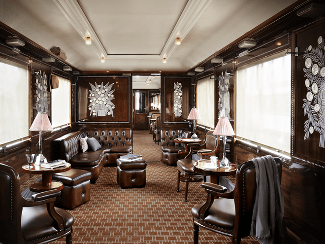 Orient-Express. Salon.
