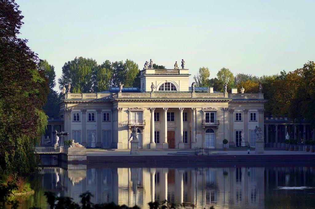Top 10 Sehenswürdigkeiten Warschu. Lazienki Park.