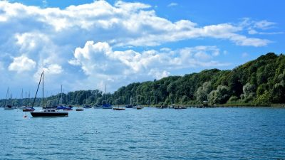 Segelboote Chiemsee