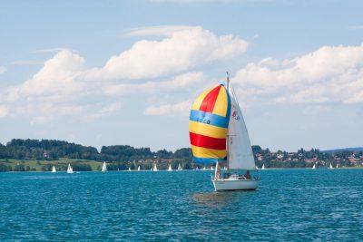 Segelboot Tegernsee