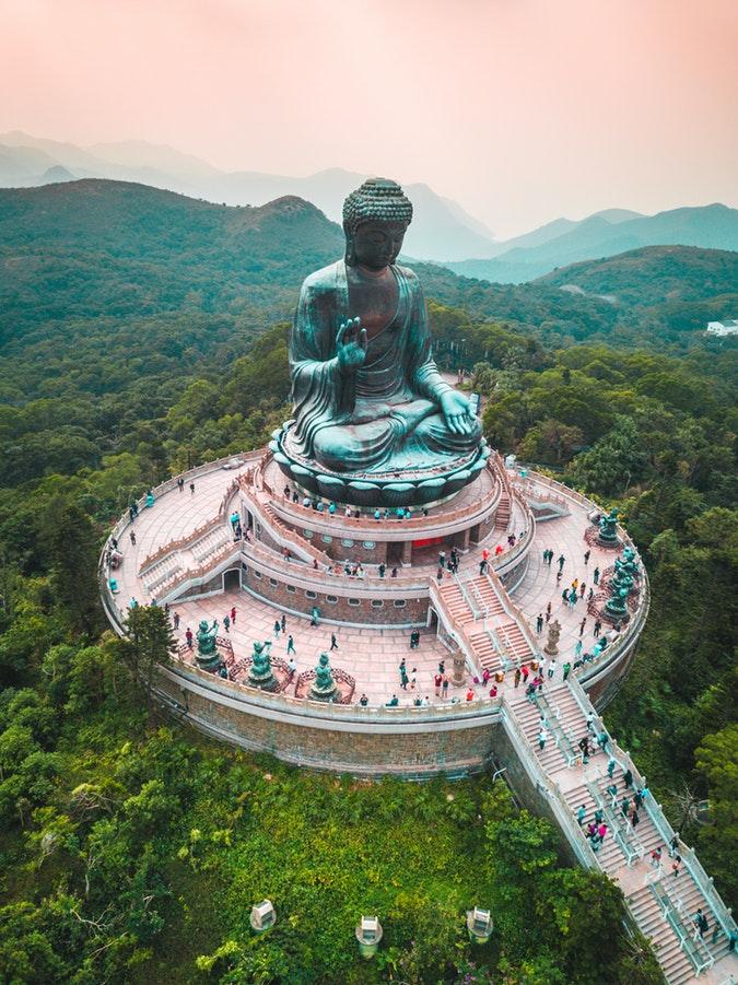 tian tian buddha- hongkong