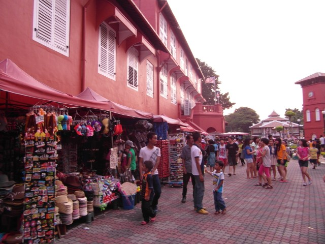 Malacca Attractions - Christ Church Malacca