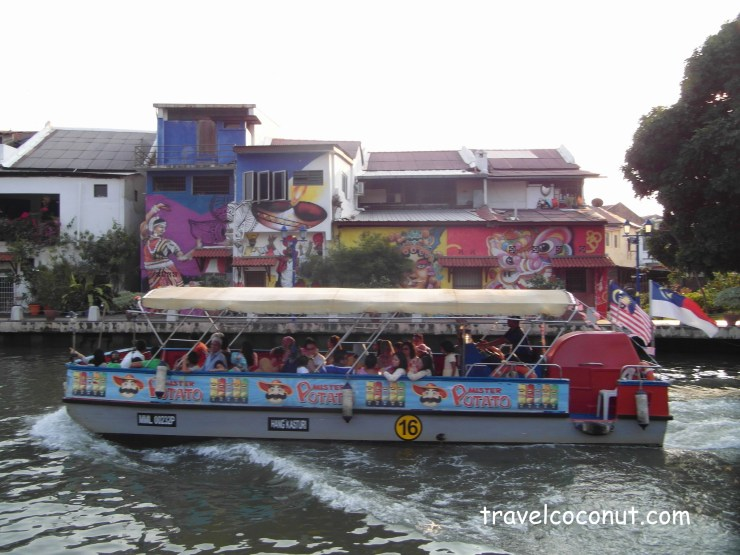 Malacca Attractions - river cruise malacca