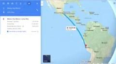 Mexico City to Lima flights : Lima Mexico City flight time