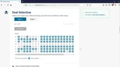 Is Flight Network scam flight booking website? Flightnetwork reviews : Seat selection