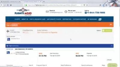 How is flightmojo flight booking? Flights Mojo reviews : Flight booking confirmation