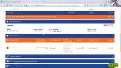 How is flightmojo flight booking? Flights Mojo reviews : Flight booking passenger information