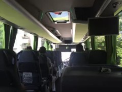 Flixbus booking review : Flixbus interior