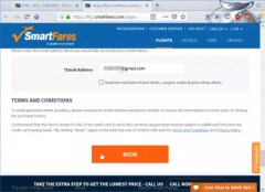 Smartfares flights booking review : Terms and conditions
