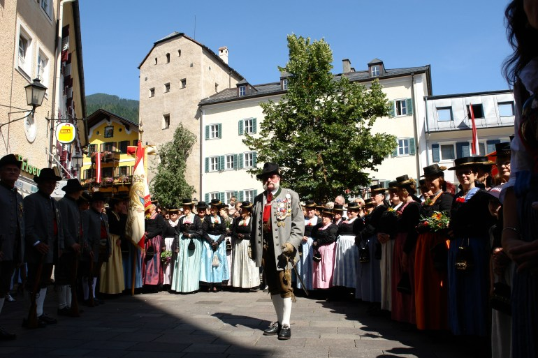 Zell am See, stroje ludowe. Fot. Zell am See-Kaprun Tourismus