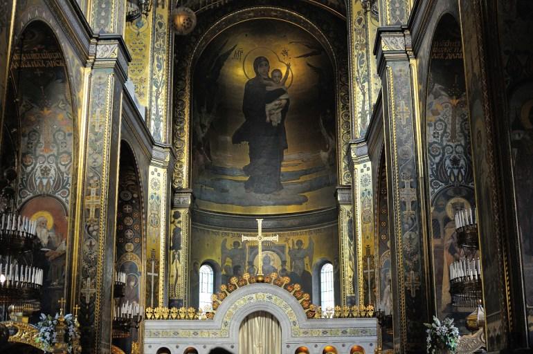Wnętrze Soboru św. Włodzimierza