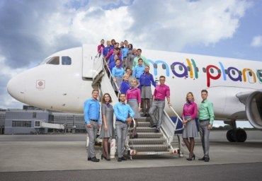 Small Planet Airlines obsługuje Azję