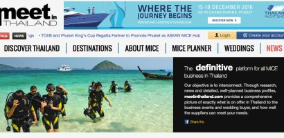 Nowy portal MICE promujący Tajlandię