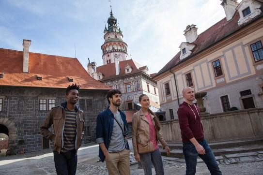 Wzrost liczby turystów w Czechach
